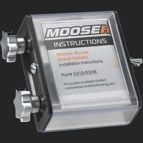 Moose Racing Route Sheet Holder