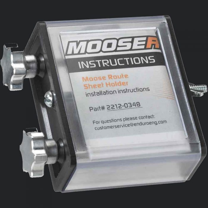 Moose Racing Route Sheet Holder